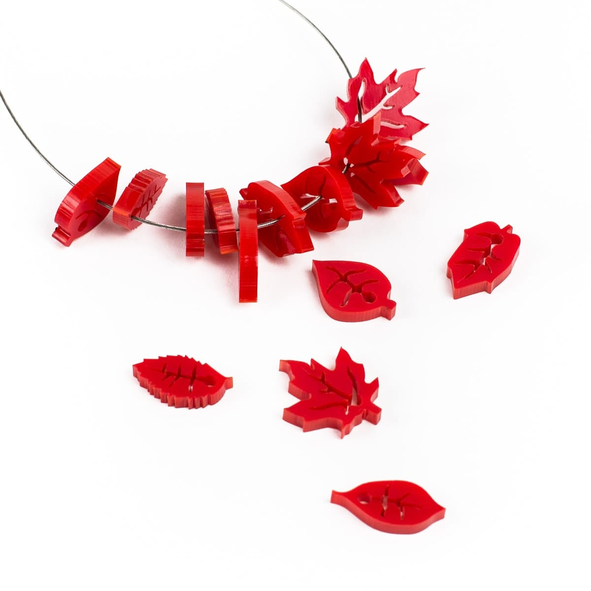 Red Acrylic example product.