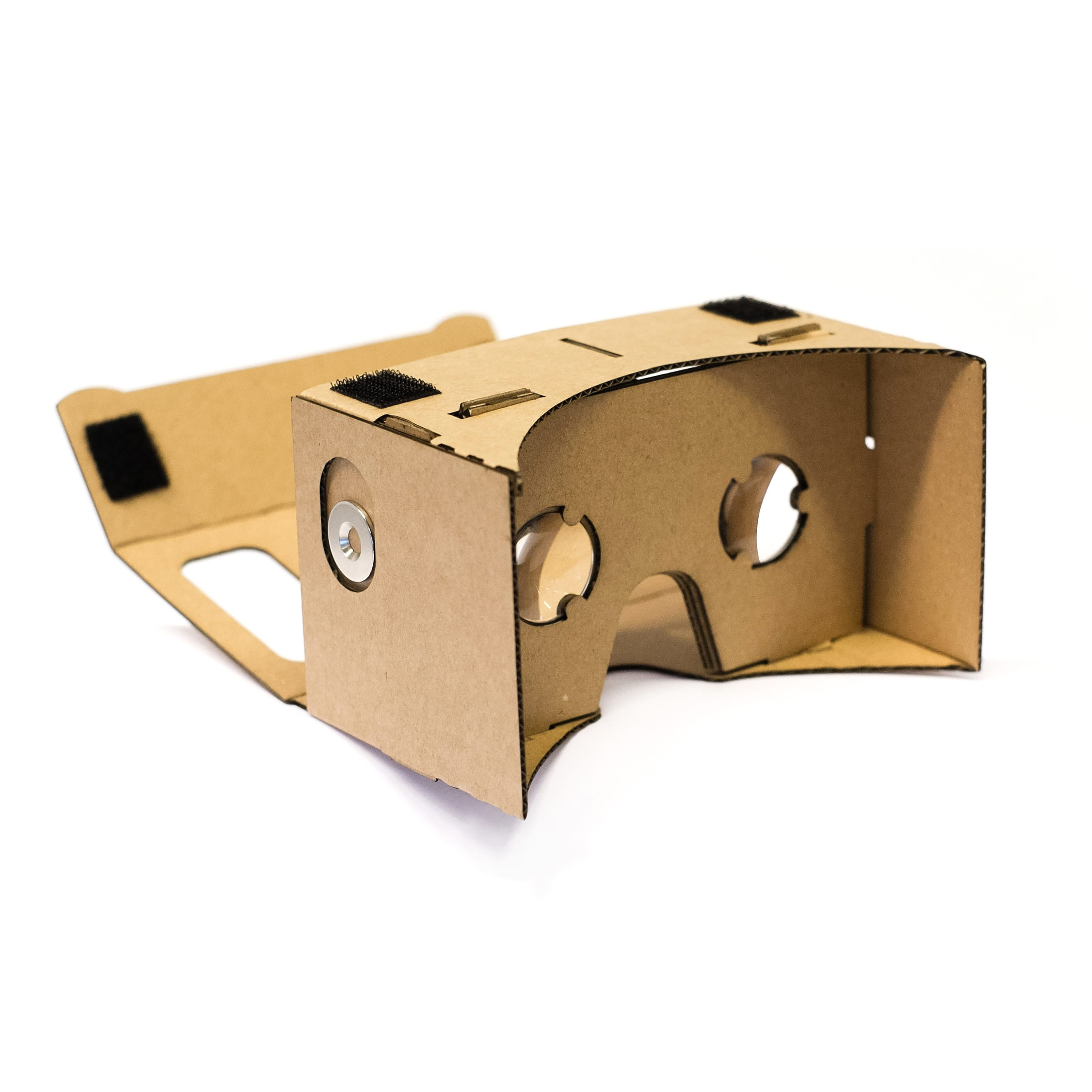 Brown Corrugated Cardboard example product.